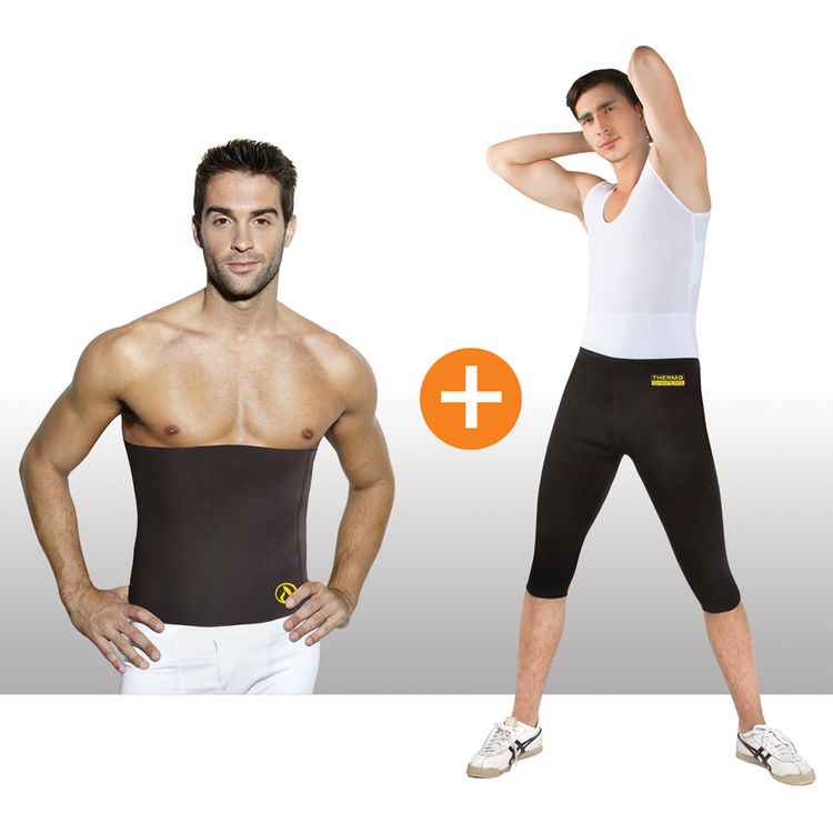 Combo-Thermo-Shapers-para-hombre-X2--Pantalon---Cinturilla