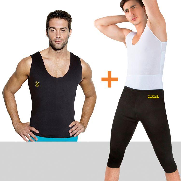 Combo-Thermo-Shapers-para-Hombre--Pantalon---Camisilla