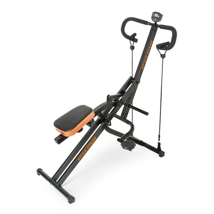 Maquina-de-ejercicio-abdominal-Monitor-y-Ligas-Style-Stars