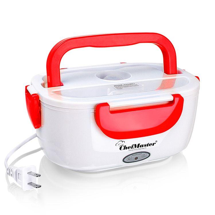 Lonchera-electrica-Porta-Comida-calentador-rojo-Chef-Master