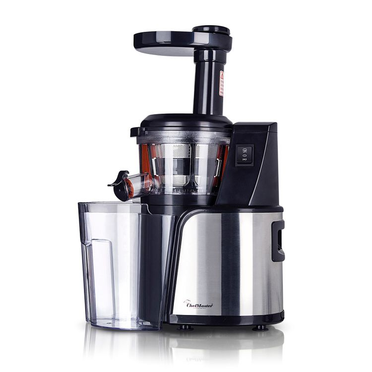 Extractor-de-jugos-Low-Speed-Juicer-–-Sistema-de-extraccion-semillas-negro-Chef-Master