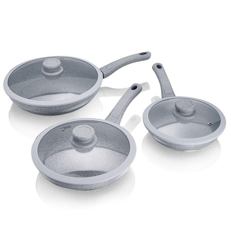 Sartenes-en-Marmol-Rush-con-tapa-Silicom-Chef-Master-20-24-y-28-cm