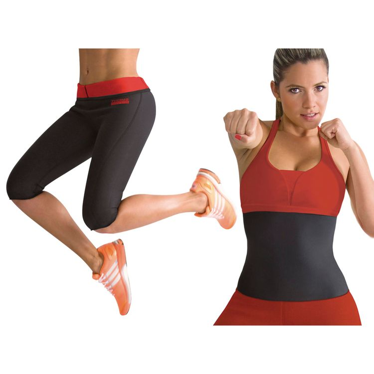 Combo-Thermo-Shapers-X-2-Dama--Pantalon-Termico-Reductor--Cinturilla-Reductora
