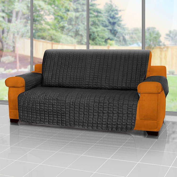 Forro-protector-de-sofa-y-muebles-reversible-Negro-3-puestos-Energy--Plus