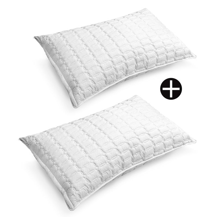 Dos-Almohadas-ultrasonido-fibra-silicon-protector-Energy-Plus