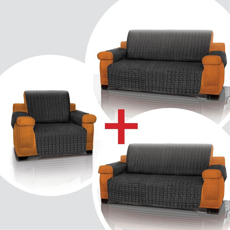 Combo-3-Cubre-sofas-Negro--1-Puesto---2-puestos---3-puestos-Energy-Plus