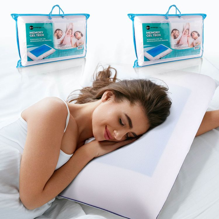 Combo-Dos-Almohada-con-gel-refrescante-con-memoria-55cm-Energy-Plus-4