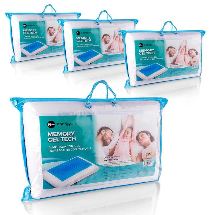 Combo-4-Almohadas-con-gel-refrescante-con-memoria-55cm-Energy-Plus-1