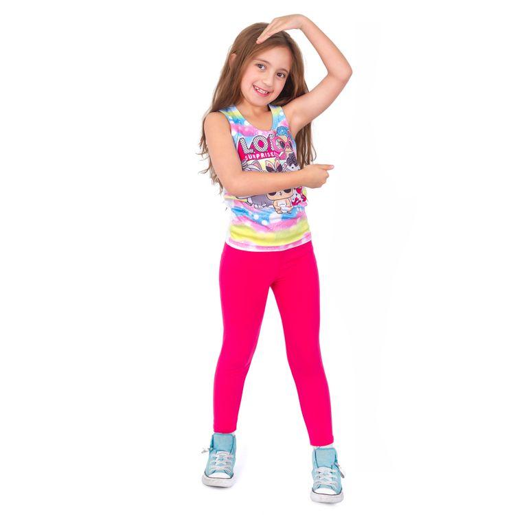 Leggins-licra-pantalon-para-Nina-en-algodon-Thin---Happy-fucsia-5