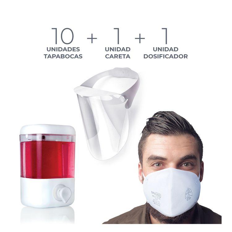 combo-salud-dosificador-gel-10-tapabocas-careta-la-Foi-1