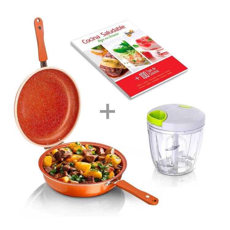combo-sarten-doble-28cm--maxi-cortador-900ml--libro-cocina-1