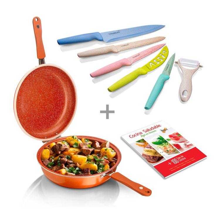 combo-sarten-doble-28cm-cuchillos-trigo-5pza-libro-cocina-1