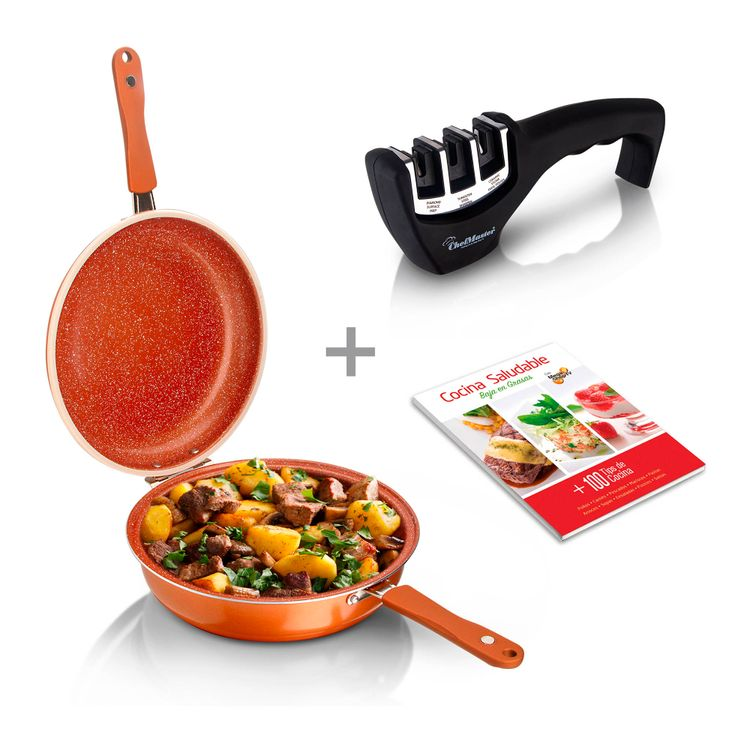 combo-sarten-doble-28cm-afilador-cuchillos-libro-cocina-1
