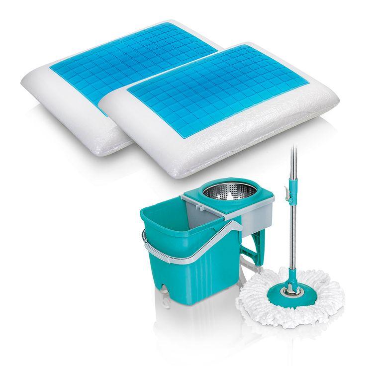 Trapero-giratorio-Stainless---Dos-almohadas-gel-refrescante-2
