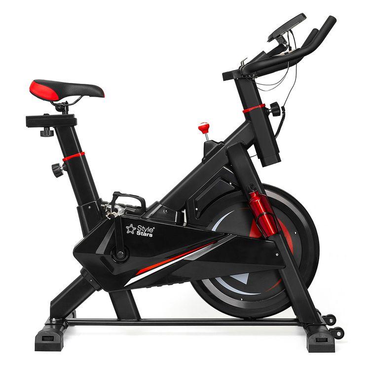 Bicicleta-estatica-spinning-con-monitor-Volante-10KG-Style-Stars-1